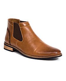 Deer Stags Men's Argos Memory Foam Dress Comfort Casual Fashion Cap Toe Chelsea Boot