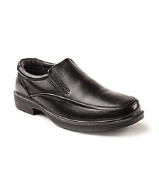 Deer Stags Men's Brooklyn Cushioned Comfort Leather Dress Casual Slip-on Loafer