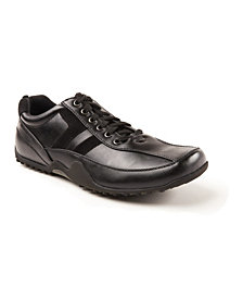 Deer Stags Men's Donald Slip Resistant Oil Resistant Non Marking Dress Comfort Oxford
