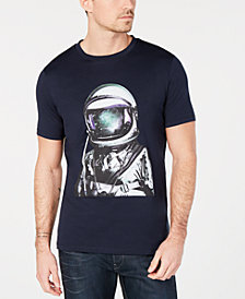 HUGO Men's Astronaut Graphic T-Shirt