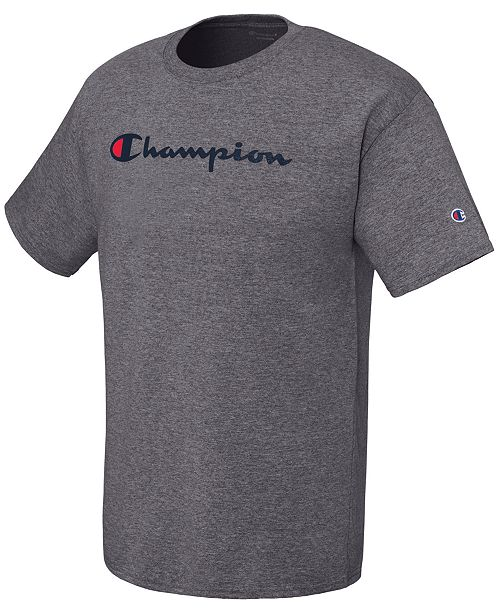 08feadb7a9 Champion Men's Logo Graphic T-Shirt & Reviews - T-Shirts - Men ...