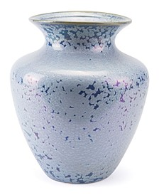 Crystal Blue Tall Vase