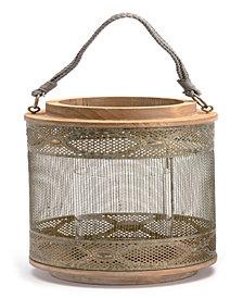 Zuo Large Wood Lantern