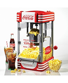Nostalgia Coca-Cola 2.5-Ounce Kettle Popcorn Maker