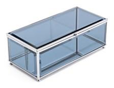 Gray Mirror Box Translucent Gray