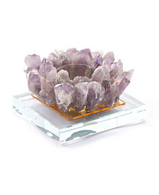 Purple Candle Holder Purple