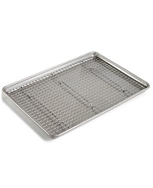 Culinary Science by Martha Stewart Collection Half Sheet Pan & Rack Set, Created for Macy's