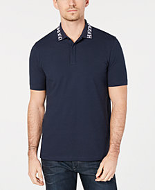 HUGO Men's Logo-Collar Polo