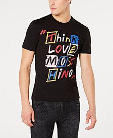 Moschino Men's Think Love Graphic T-Shirt