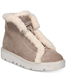 Gentle Souls By Kenneth Cole Treveo Cozy Cold-Weather Booties