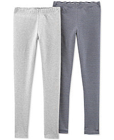 Carter's Little & Big Girls 2-Pack Striped Leggings