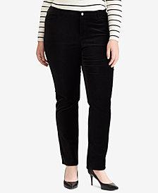 Lauren Ralph Lauren Plus Size Premier Straight Jeans