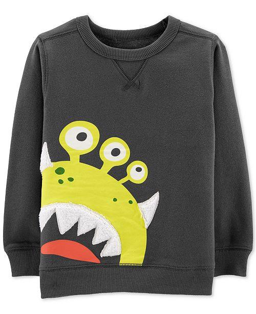 Carter's Toddler Boys Alien Graphic Sweatshirt
