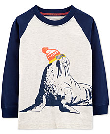 Carter's Toddler Boys Walrus Graphic Cotton T-Shirt