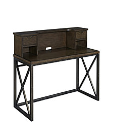 Home Styles Xcel Office Desk with Hutch