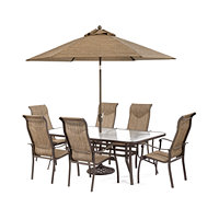 Oasis Outdoor Aluminum 7-Pc. Dining Set Deals