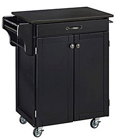 Cuisine Cart Black Granite Top
