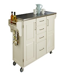 Home Styles Create-A-Cart Stainless Top