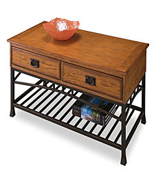 Home Styles Modern Craftsman Distressed Oak Coffee Table