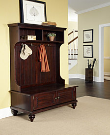 Home Styles Bermuda Espresso Hall Tree Stand