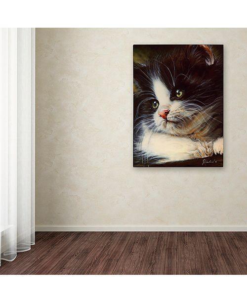 "Trademark Global Jenny Newland 'Precious Moment' Canvas Art, 14"" x 19"""