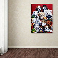 Jenny Newland 'Picture Day' Canvas Art