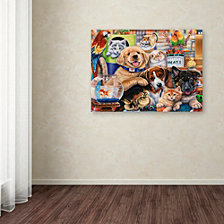 Jenny Newland 'Pet Shop' Canvas Art