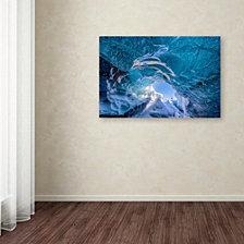 Michael Blanchette Photography 'Ice Vortex' Canvas Art