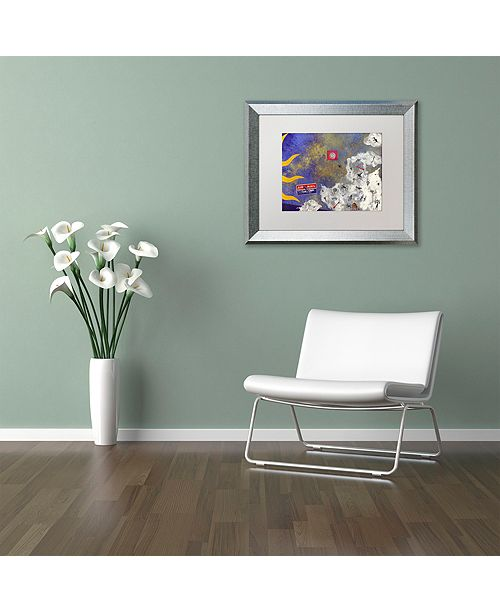 "Trademark Global Nick Bantock 'Petros' Matted Framed Art, 16"" x 20"""