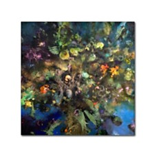 "Nick Bantock 'Tree of Life' Canvas Art, 14"" x 14"""