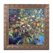 """Nick Bantock 'Tree of Life' Ornate Framed Art, 16"""" x 16"""""""