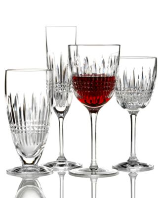 Stemware, Lismore Diamond White Wine Glass