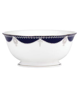 Dinnerware, Empire Indigo Serving Bowl