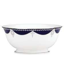 Dinnerware, Empire Indigo Serving Bowl
