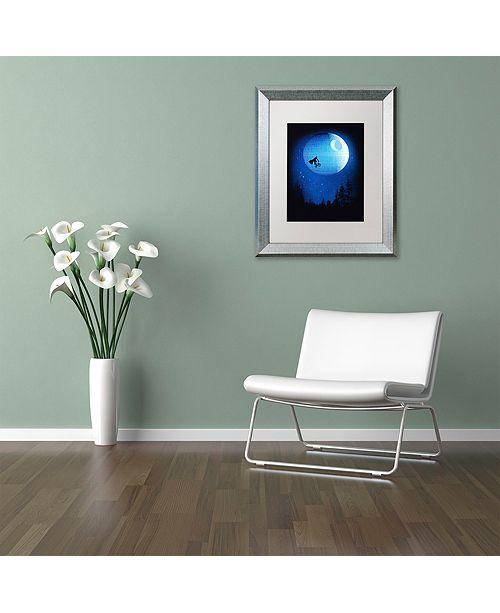 """Trademark Global Robert Farkas 'Let's Have Fun Final' Matted Framed Art, 11"""" x 14"""""""