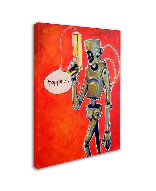 """Trademark Global Craig Snodgrass 'Happiness' Canvas Art, 35"""" x 47"""""""