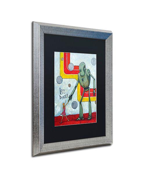 "Trademark Global Craig Snodgrass 'Let's Dance' Matted Framed Art, 16"" x 20"""