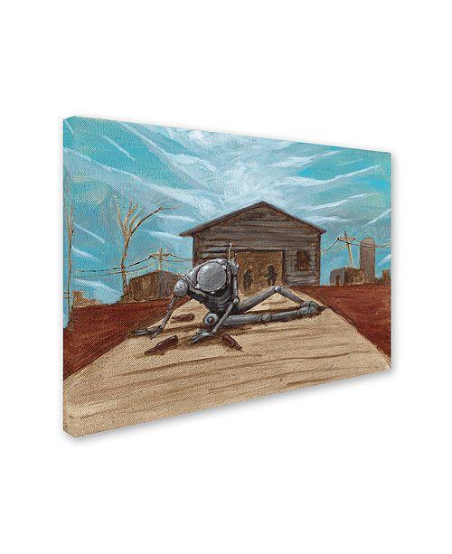 "Trademark Global Craig Snodgrass 'Illinois' Canvas Art, 14"" x 19"""