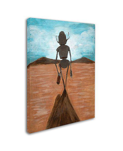 """Trademark Global Craig Snodgrass 'A Long Walk' Canvas Art, 24"""" x 32"""""""