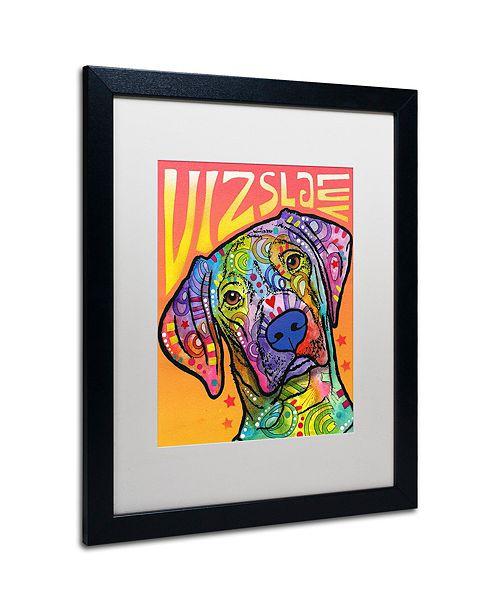 "Trademark Global Dean Russo 'Vizsla Luv' Matted Framed Art, 16"" x 20"""