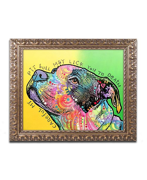 """Trademark Global Dean Russo 'Lick You to Death' Ornate Framed Art - 16"""" x 20"""""""