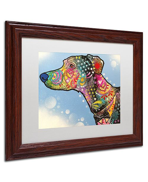 "Trademark Global Dean Russo 'Enzo' Matted Framed Art, 11"" x 14"""