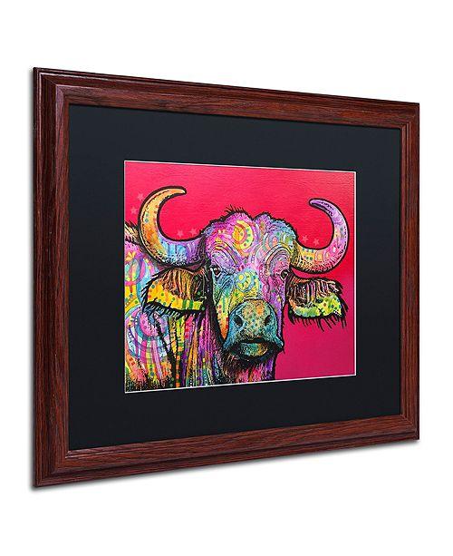 """Trademark Global Dean Russo 'Wildebeest' Matted Framed Art, 16"""" x 20"""""""