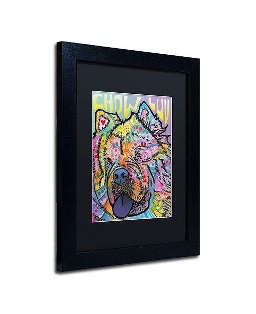 "Trademark Global Dean Russo 'Chow Love' Matted Framed Art, 11"" x 14"""