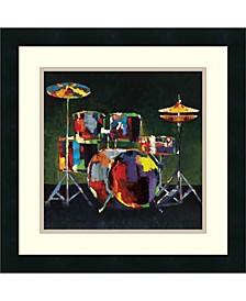 Drum Set Framed Art Print