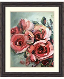 Amanti Art Amid Scent Of Roses Framed Art Print