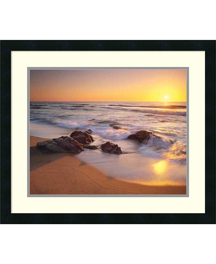 Amanti Art - Pacific Calm 27x23 Framed Art Print