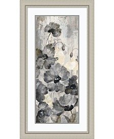 Amanti Art Crystal Raindrops Panel II  Framed Art Print