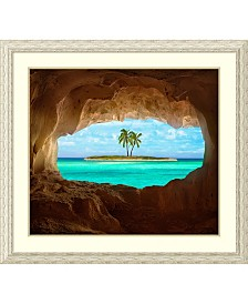 Amanti Art Paradise  Framed Art Print