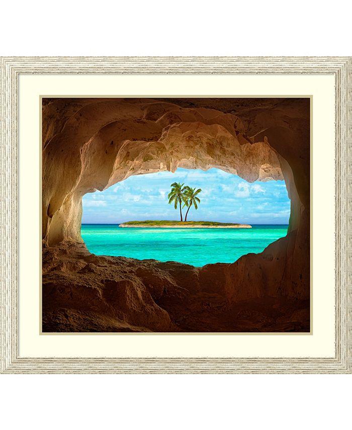 Amanti Art - Paradise 39x35 Framed Art Print